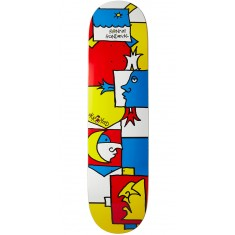 Krooked Ronnie Tableau Skateboard Deck - 8.06""