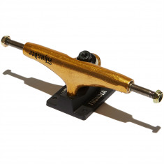 Thunder Team OG Script Skateboard Trucks - Gold