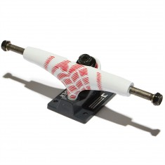 Thunder Aftershocks Team Skateboard Trucks - White/Gray