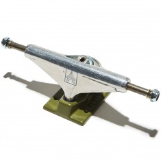 Venture Covert Icon Team V-Light Skateboard Trucks - Polished/Army