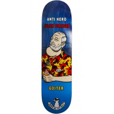 Anti-Hero Stranger Where Are They Now Skateboard Deck - 8.28""