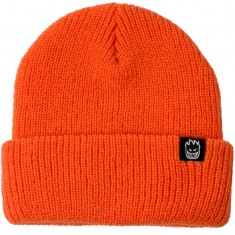 Spitfire Bighead Clip Label Cuff Beanie - Orange