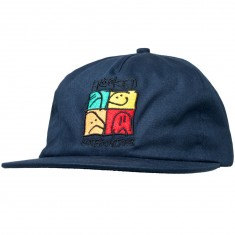 Krooked KD Ultra Snapback Hat - Dark Navy