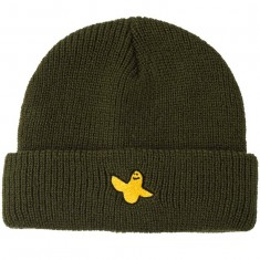 Krooked YG Bird Emb Cuff Beanie - Dark Army