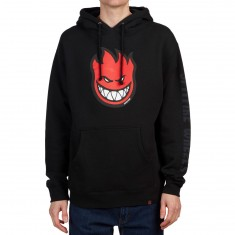 Spitfire Bighead Fill Hoodie - Black/Red