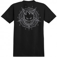 Spitfire Pentaburn Double T-Shirt - Black/Grey