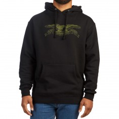 Anti-Hero Basic Eagle Hoodie - Black/Army