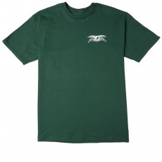 Anti-Hero Stock Eagle T-Shirt - Forest Green/White