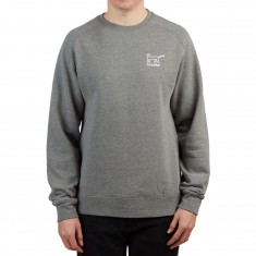 Krooked Kat Sweatshirt - Gunmetal Heather