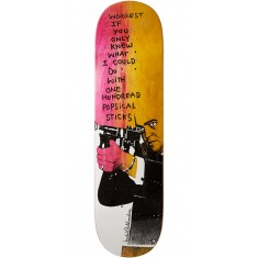 Krooked Worrest Zirox Poems Skateboard Deck - 8.38""