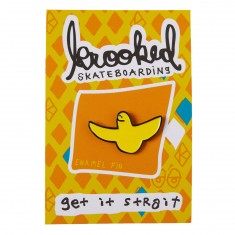 Krooked OG Bird Pin - Yellow/Black