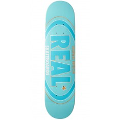 Real Oval Renewal Remix Skateboard Deck - Blue - 7.30""