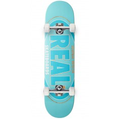 Real Oval Renewal Remix Skateboard Complete - Blue - 7.30""