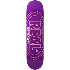 Real Oval Renewal Remix Skateboard Deck - Purple - 7.56""