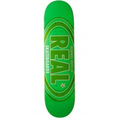 Real Oval Renewal Remix Skateboard Deck - Green - 7.75""