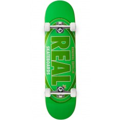 Real Oval Renewal Remix Skateboard Complete - Green - 7.75""