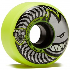 Spitfire 80hd Chargers Conical Skateboard Wheels - Yellow - 54mm
