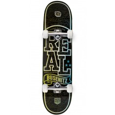 Real Busenitz Holographic Lo-Pro II  Skateboard Complete - 8.06""