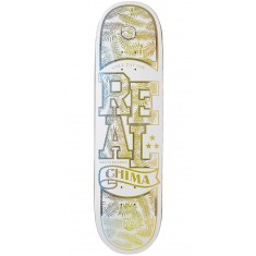 Real Chima Holographic Lo-Pro II  Skateboard Deck - 8.25""