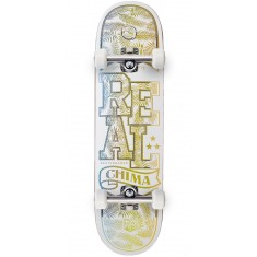 Real Chima Holographic Lo-Pro II  Skateboard Complete - 8.25""