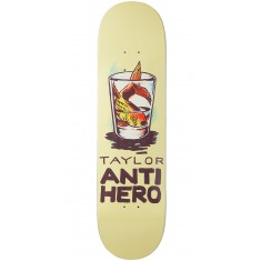 Anti-Hero Taylor Overcrowding Skateboard Deck - 8.12""
