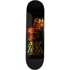 Anti-Hero Stranger Gold Commode Skateboard Deck - 8.18""