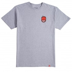 Spitfire Lil Bighead Fill T-Shirt - Athletic Heather/Red