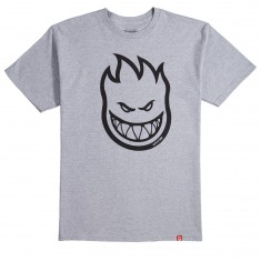 Spitfire Bighead T-Shirt - Athletic Heather/Black