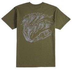 Spitfire Molotov T-Shirt - Military Green