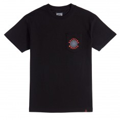 Spitfire OG Classic Pocket T-Shirt - Black/Red/Grey