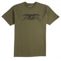 Anti Hero Basic Eagle T-Shirt - Militart Green/Black
