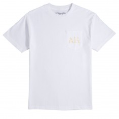 Anti Hero Drophero Pocket T-Shirt - White/Yellow