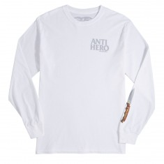 Anti Hero Buck Shank Longsleeve T-Shirt - White