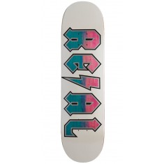Real Deeds Skateboard Deck - Whiteout - 8.25""