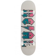 Real Deeds Skateboard Complete - Whiteout - 8.25""