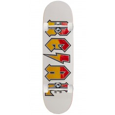 Real Deeds Skateboard Complete - Whiteout - 8.50""