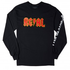 Real Highway 2 Hell Long Sleeve T-Shirt - Black
