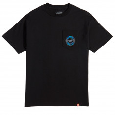 Spitfire Flying Classic Pocket T-Shirt - Black/Silver