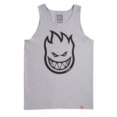 Spitfire Bighead Tank Top - Athletic Heather/Black