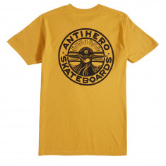 Anti-Hero Stay Ready T-Shirt - Mustard/Black