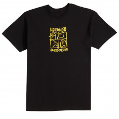 Krooked KD Ultra T-Shirt - Black/Yellow