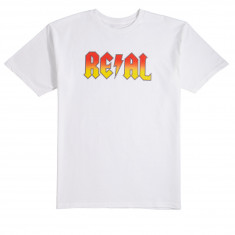 Real Deeds T-Shirt - White/Yellow