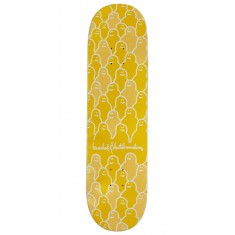 Krooked Krouded Pricepoint Yellow Skateboard Deck - 8.25""