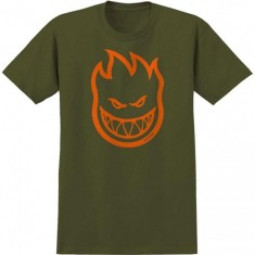Spitfire Covert Bighead T-Shirt - Military Green