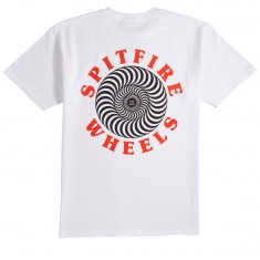 Spitfire OG Classic T-Shirt - White/Black/Red