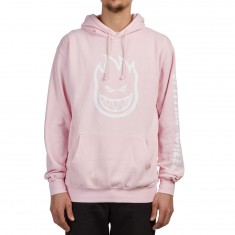 Spitfire Bighead Hombre Hoodie - Pink/White