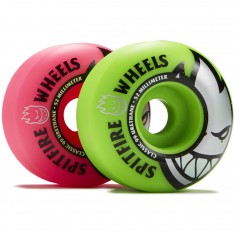 Spitfire Bighead Classic Mashup Skateboard Wheels - Pink/Green - 52mm