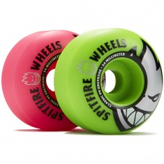 Spitfire Bighead Classic Mashup Skateboard Wheels - Pink/Green - 54mm