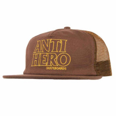 Anti-Hero Blackhero Outline Hat - Brown/Gold