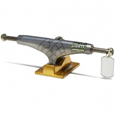 Thunder 24K Sonora Lights Skateboard Truck - Pewter/Gold - 149mm
